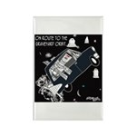 Graveyard Orbit Rectangle Magnet (10 pack)