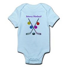 Cute Hockey season Infant Bodysuit