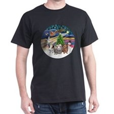 XmasMagic-3 GuineaPigs T-Shirt