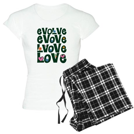 Evolve Whimsical Love Women's Light Pajamas