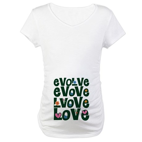 Evolve Whimsical Love Maternity T-Shirt