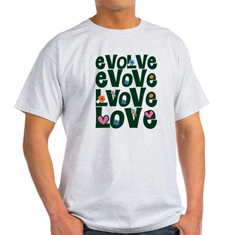 Evolve Whimsical Love Men's Light T-Shirt