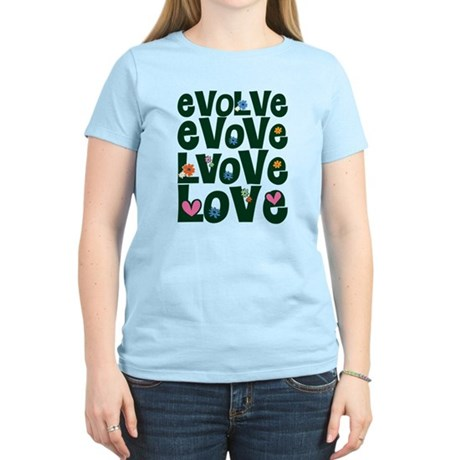 Evolve Whimsical Love Women's Light T-Shirt