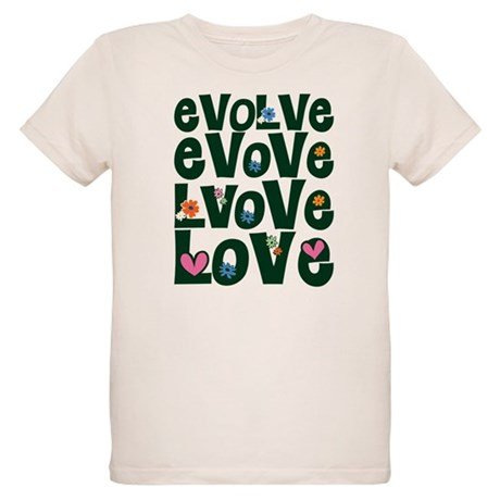 Evolve Whimsical Love Organic Kids T-Shirt
