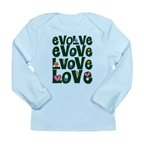 Evolve Whimsical Love Long Sleeve Infant T-Shirt