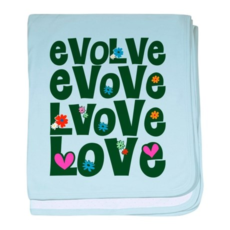 Evolve Whimsical Love Baby Blanket