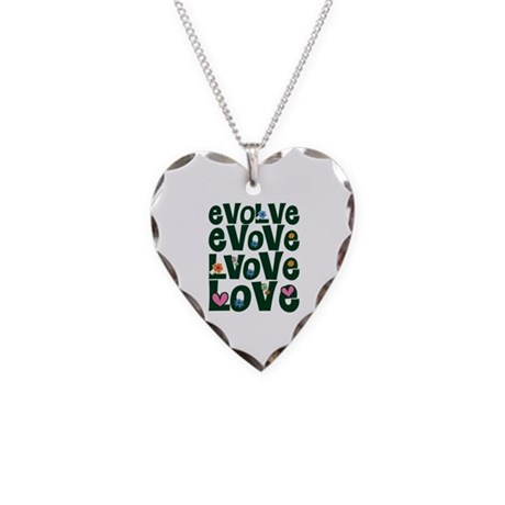 Evolve Whimsical Love Necklace with Heart Charm