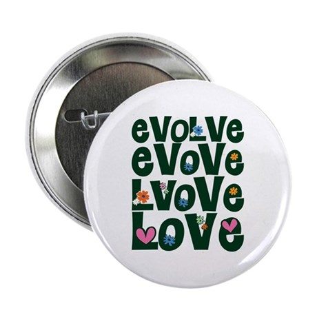 Evolve Whimsical Love 2.25 Inch Button