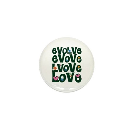 Evolve Whimsical Love Mini Buttons ~ Pack of 10