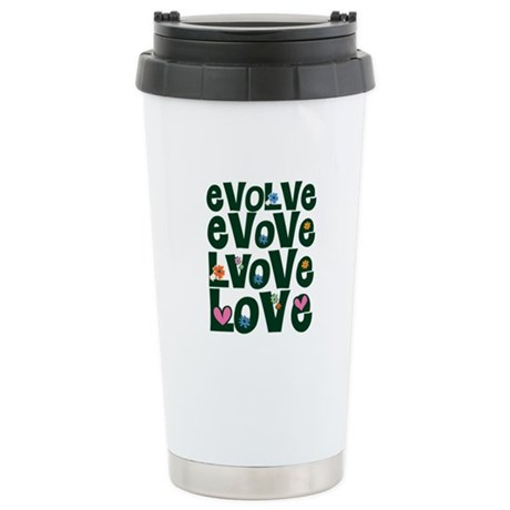 Evolve Whimsical Love Ceramic Travel Mug