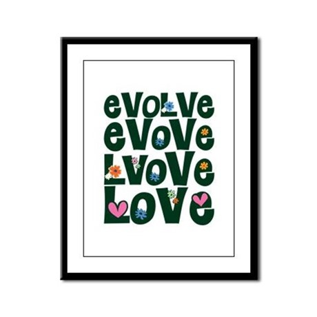 Evolve Whimsical Love Framed Panel Print