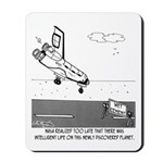 Wet Cement In Space Mousepad
