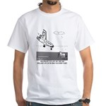 Wet Cement In Space White T-Shirt