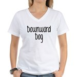 Down Dog Women's V-Neck T-Shirt