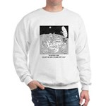 Lunar Rover 's Battery Is Dead Sweatshirt