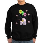 It's A Girl Sweatshirt (dark)