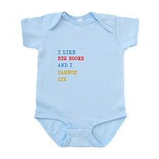 Big Books Infant Bodysuit