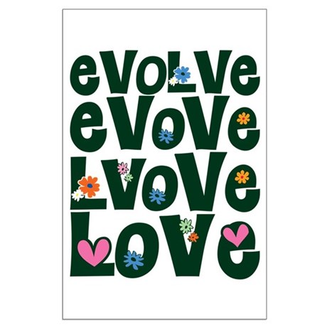 Evolve Whimsical Love Large Poster
