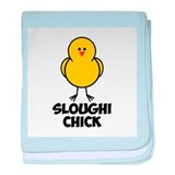 Sloughi Chick baby blanket