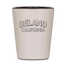 Delano California Shot Glass