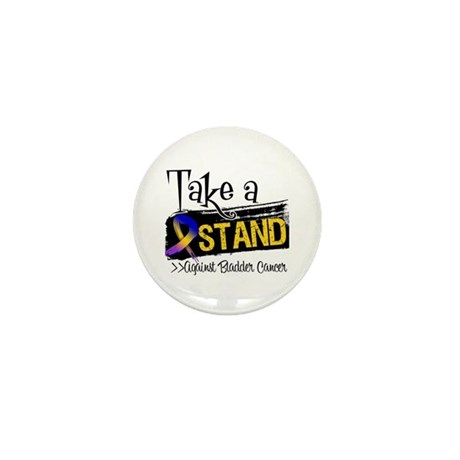 Take a Stand Bladder Cancer Mini Button (100 pack)