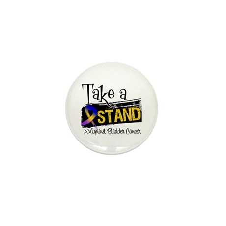 Take a Stand Bladder Cancer Mini Button