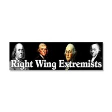 """Right Wing Extremists"" Car Magnet 10 x"
