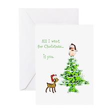 Funny Brother christmas Greeting Card