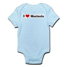I Love Maricela Infant Creeper