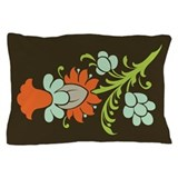 Paisley to Flower Pillow Case