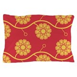 Spirolap Red Pillow Case