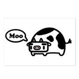 Mooing Cow Postcards (Package of 8)