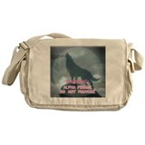 WEREWOLF ALPHA FEMALE DO NOT Messenger Bag