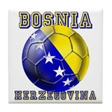 Bosnia Football Tile Coaster