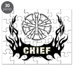 Fire Chief Tattoo Puzzle