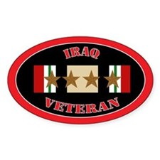 Iraq Campaign 4 Stars Decal