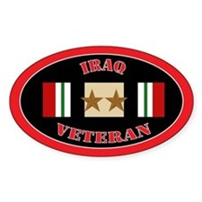 Iraq Campaign 2 Stars Decal