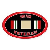 Iraq Veteran Decal