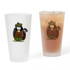 Golf Penguin Drinking Glass