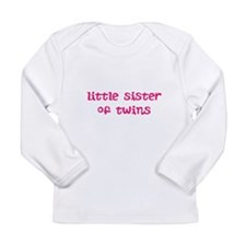 Cute Sister Long Sleeve Infant T-Shirt