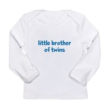Cute Twin brother Long Sleeve Infant T-Shirt