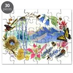 Nature Watercolor Puzzle