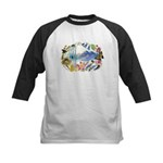 Nature Watercolor Kids Baseball Jersey
