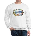 Nature Watercolor Sweatshirt