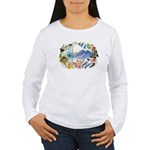 Nature Watercolor Women's Long Sleeve T-Shirt