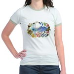 Nature Watercolor Jr. Ringer T-Shirt