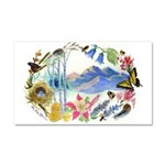 Nature Watercolor Car Magnet 20 x 12