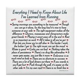 Running Life Lessons - 26.2 Tile Coaster
