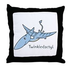 Twinkiedactyl Throw Pillow