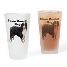 Bernese Mountain Dog Drinking Glass